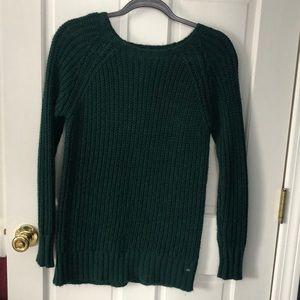 American Eagle Green Knit Sweater XS